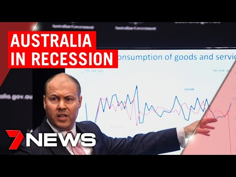 Australia Is In A Recession, As Economy Reels From Coronavirus And Bushfires | 7NEWS