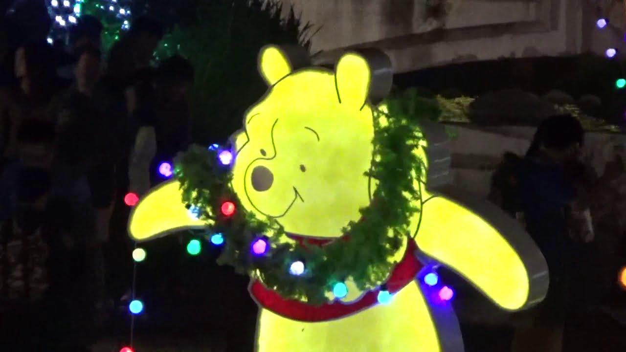 臺中綠川迪士尼燈會粉紅豬小熊維尼跳跳虎再見了200113 - YouTube