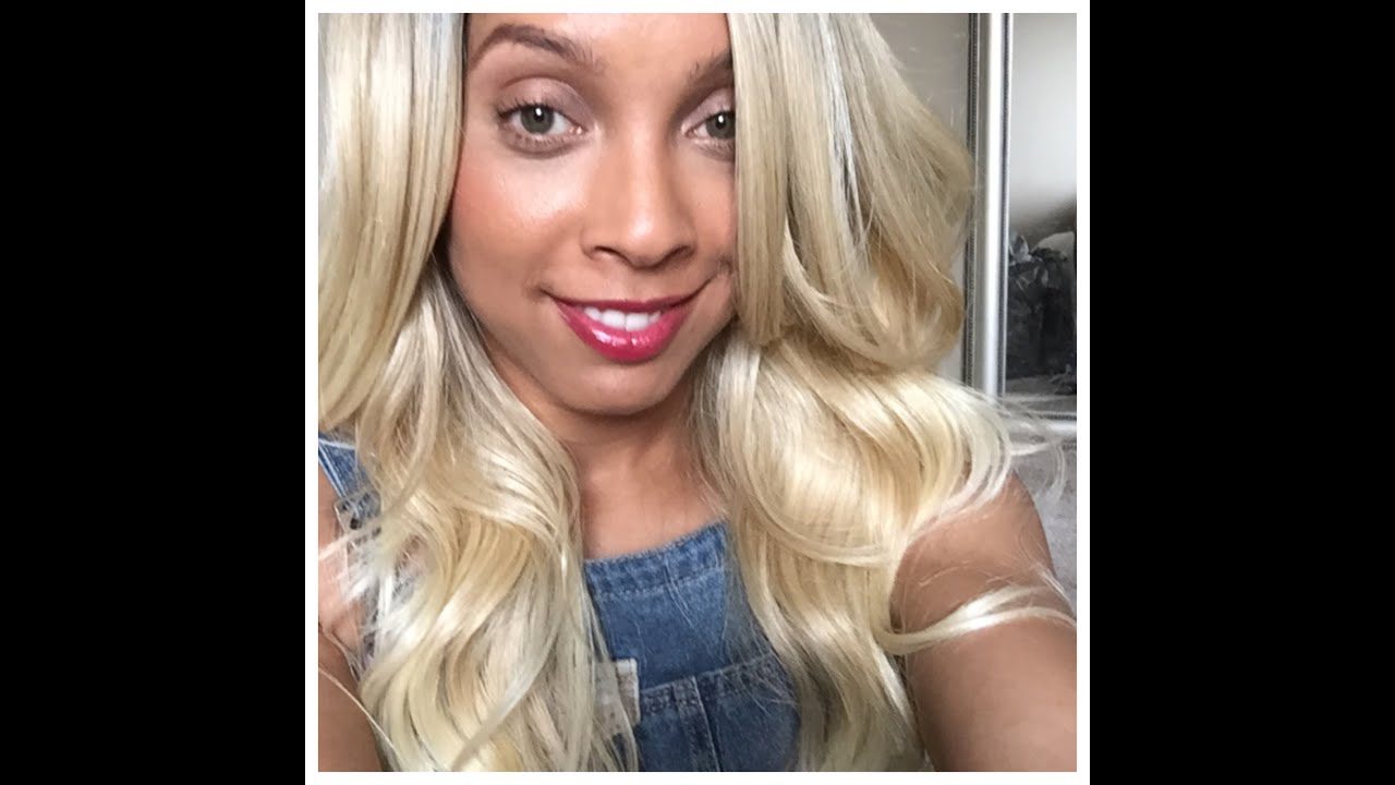 Blonde Bombshell Hair Freetress Equal Lace Front Danity