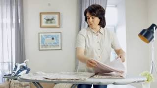 Как правильно гладить постельное белье(Мастер-класс от компании Cotton Dreams., 2016-07-08T11:51:12.000Z)