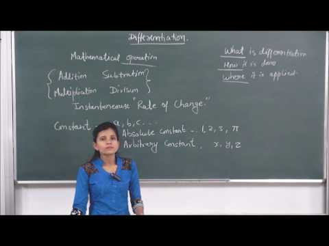 MATHS-XII-5-03 Differentiation Intro.(2016)  Pradeep Kshetrapal channel