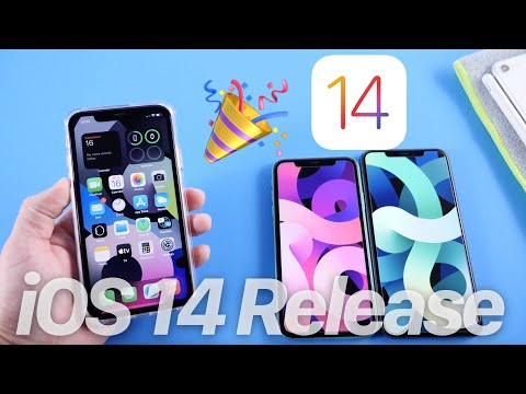 iOS 14 Released Today - New Wallpapers & More....