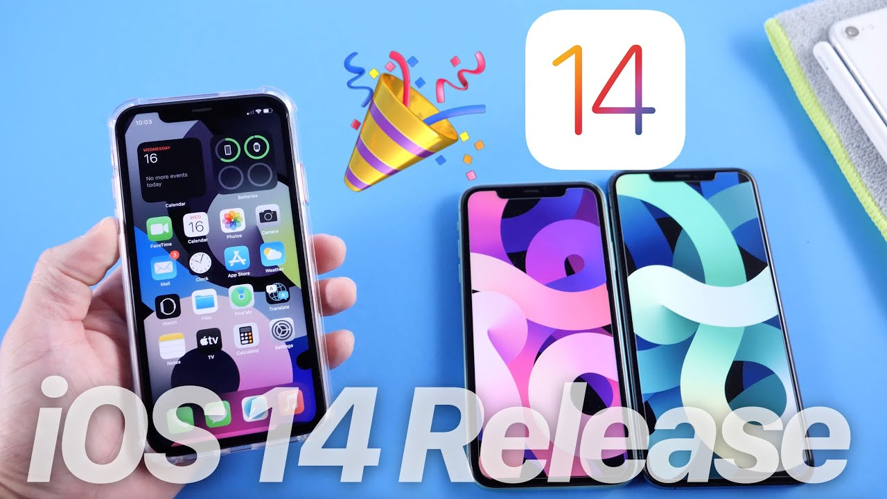 iOS 14 release date, features, widgets and compatible iPhones