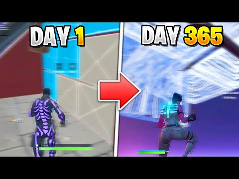 1 Year Fortnite Progression From PS4 To PC! (CONTROLLER To KEYBOARD + MOUSE)