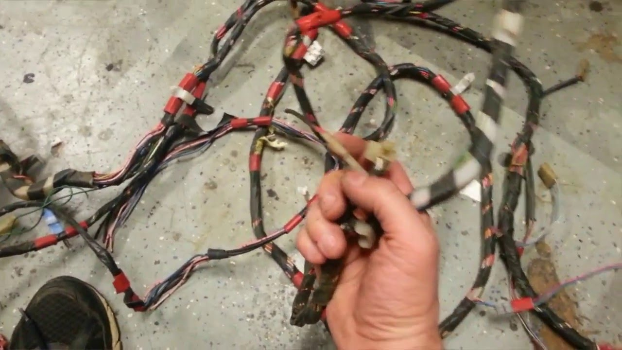 maxresdefault ep 04 project ae86 rear body wiring harness youtube ae86 gts wiring harness at panicattacktreatment.co