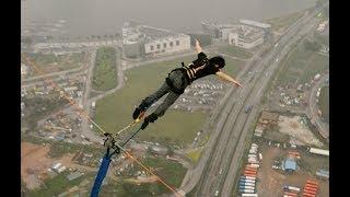 マカオタワーバンジージャンプへ挑戦!【Bungee Jumping from Macau Tower 233m】