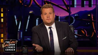 James Corden's Message to Barcelona by : The Late Late Show with James Corden