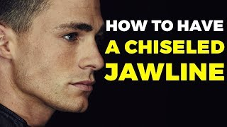 HOW TO HAVE A CHISELED JAWLINE | Is it Possible? Alex Costa