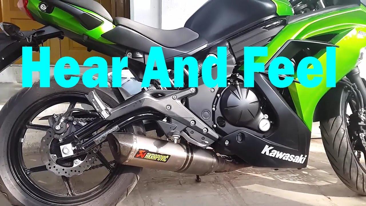 Kawasaki Z650 Akrapovic Exhaust