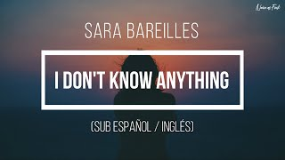Sara Bareilles - I Don't Know Anything (Sub Español / Inglés) [Little Voice Season 1]