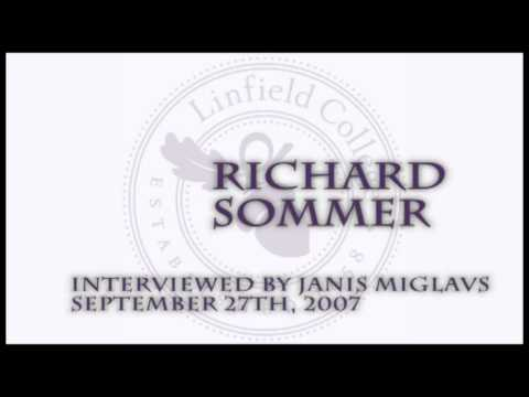 Janis Miglavs Oral History Interview: Richard Sommer