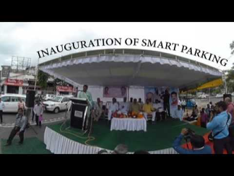 Inauguration of Bhopal's First Smart Parking by BMC