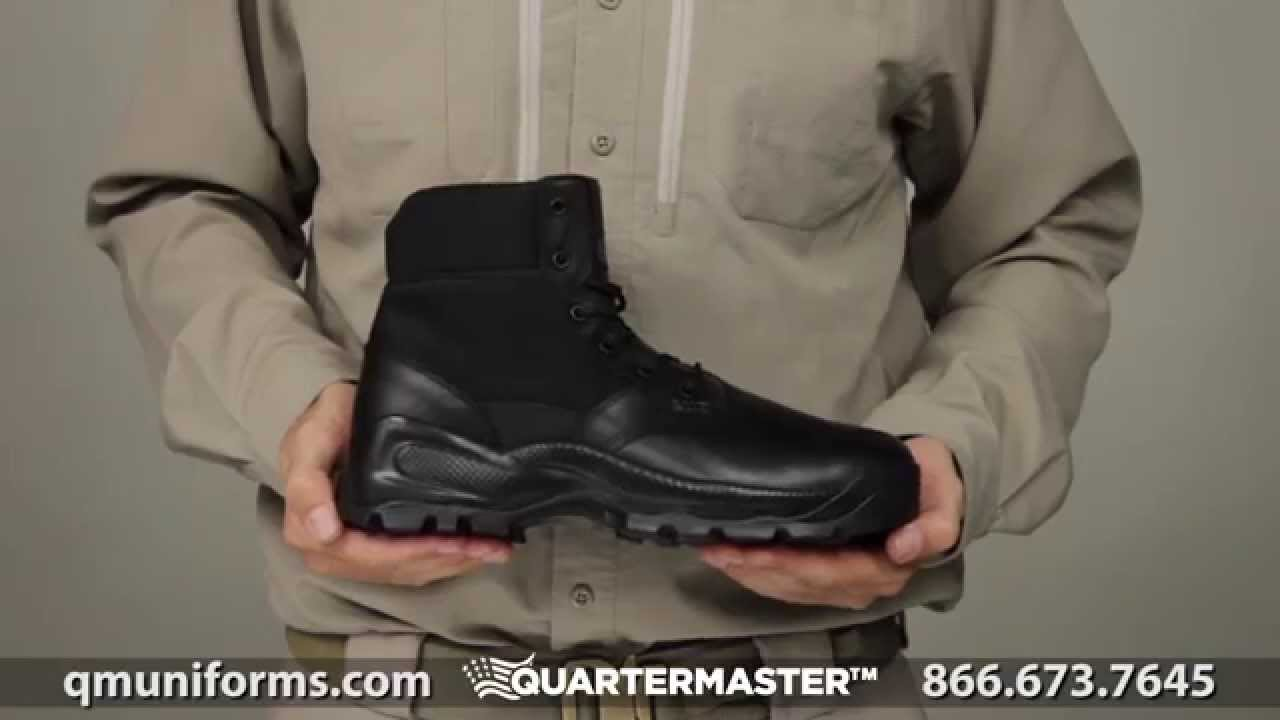 bc1499a2bce1 5.11 Tactical Speed 2.0 5 inch Quarterboot at Quartermaster - YouTube