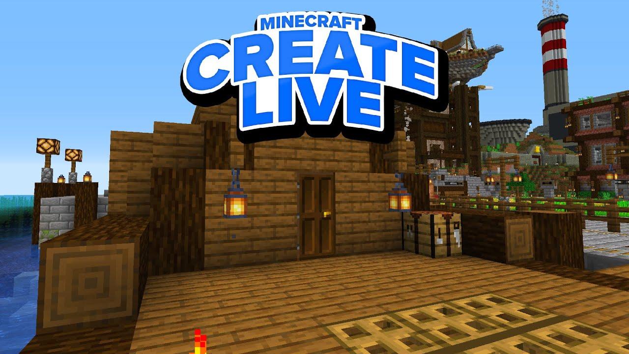 Schiffswerft Pixl (Wenn es schwimmt, haben Sie Glück) 🛠️ CREATE Live #041