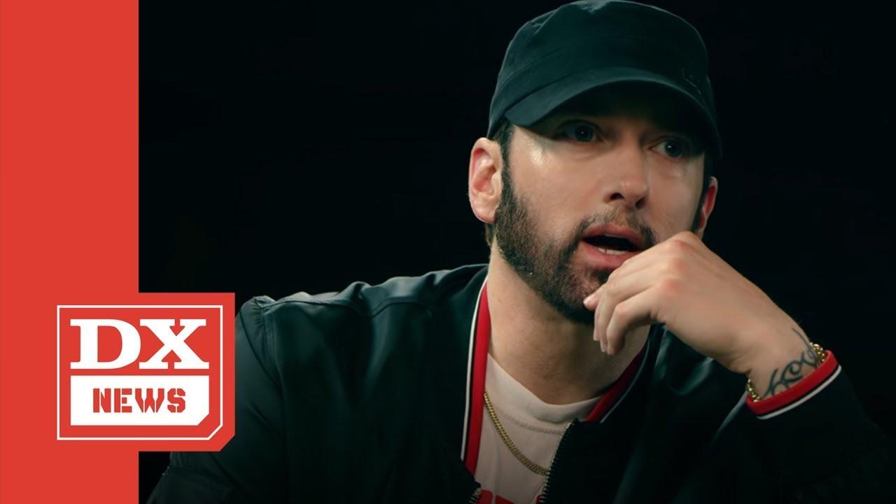Eminem's Reaction To Machine Gun Kelly's