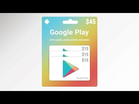 Google Play Gift Card Design Photoshop Tutorial