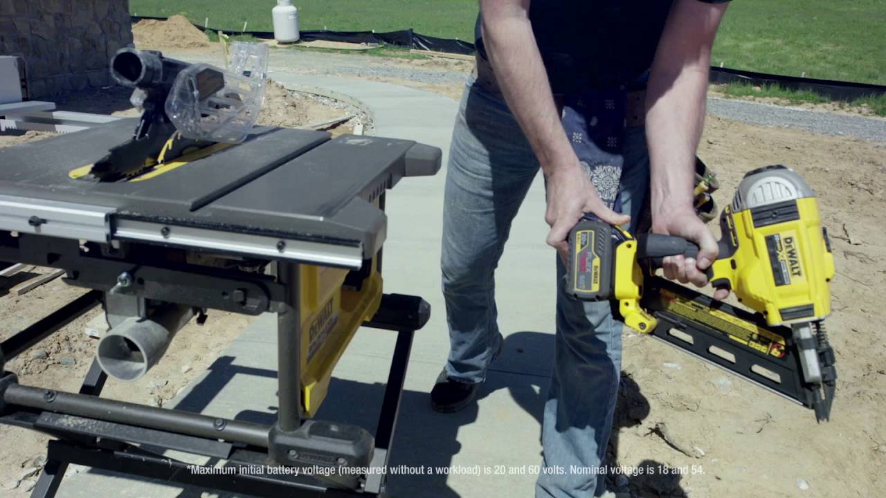 Dewalt 174 Flexvolt 174 60v Max 8 1 4 Quot Cordless Table Saw