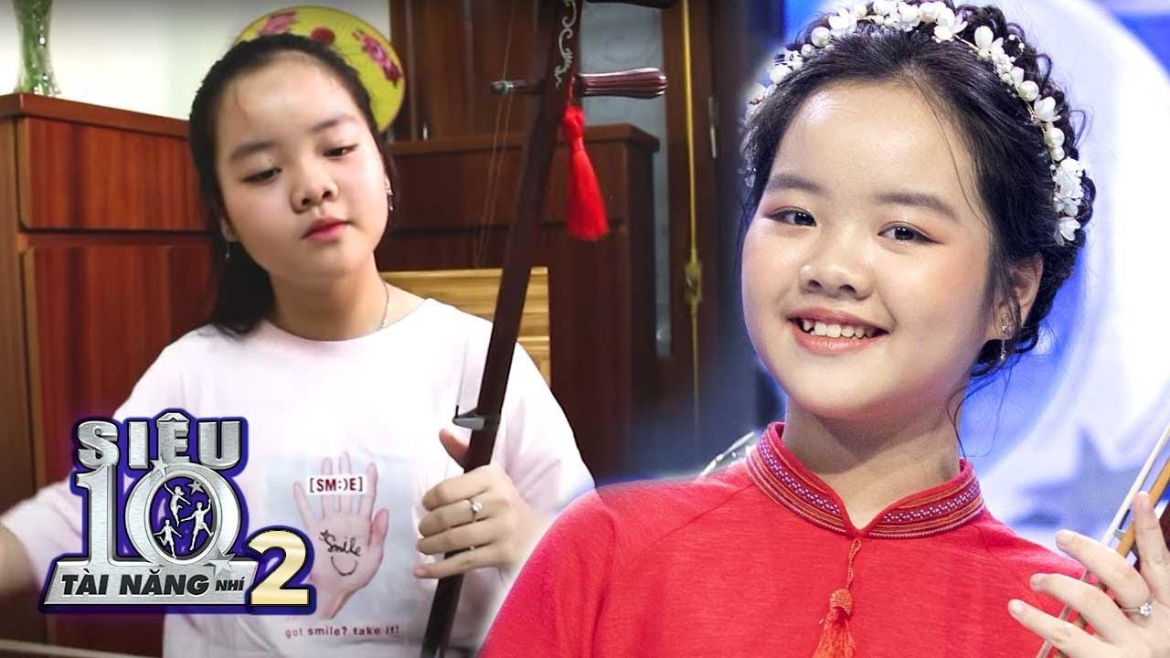 Thăm nhà Siêu Nhí Đàn Nhị với niềm đam mê nhạc cụ dân tộc từ nhỏ   Hậu Trường Siêu Tài Năng Nhí