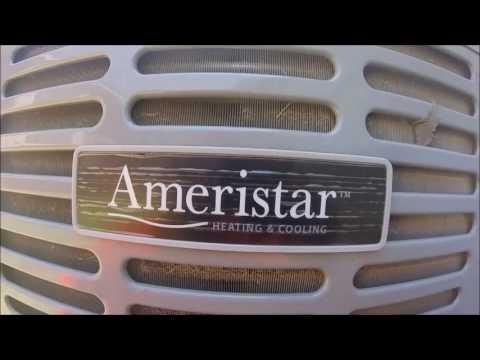 2014 Ameristar 4 ton Central Air Conditioner Running!