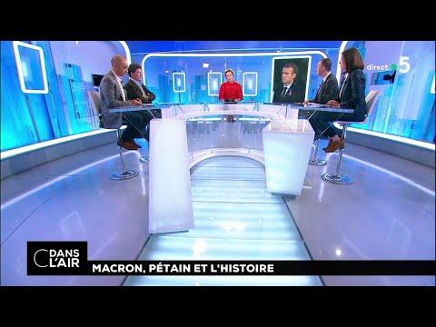 Macron, Pétain et l'Histoire #cdanslair 08.11.2018