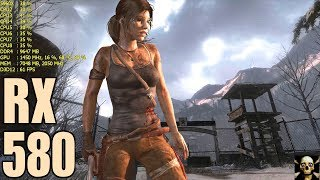 Rise of the Tomb Raider RX 580 Very High Performance DX12!! 1080P