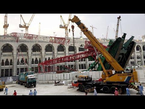 Падение крана на мечеть в Мекке: 111 погибших (новости)