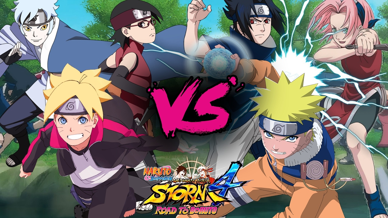 Image result for Boruto Team 7
