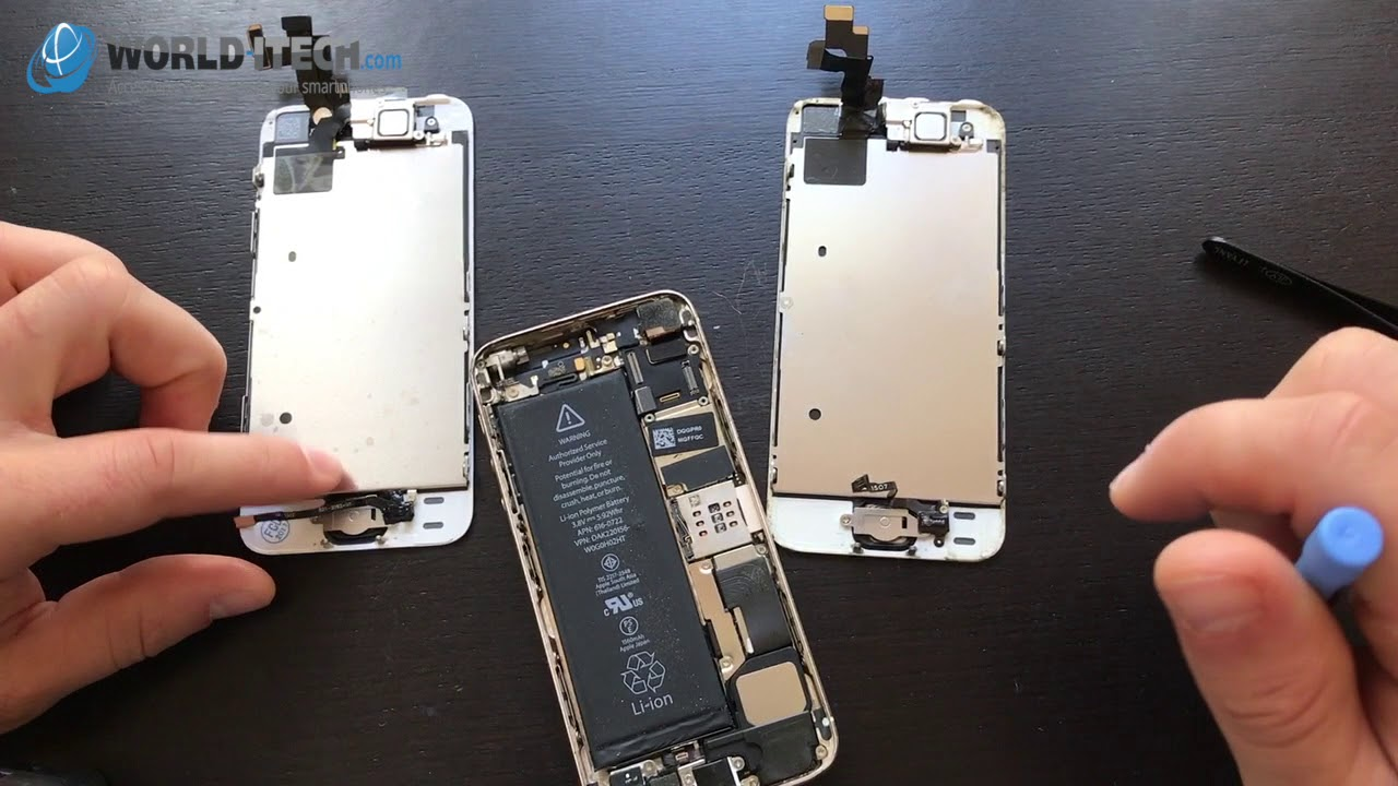 Remplacer Reparer Ecran Iphone 5s Se En 5 Minutes Youtube