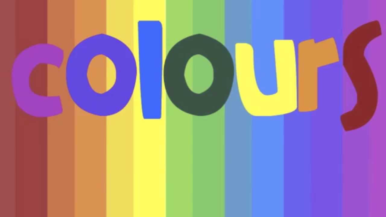 Colours / Colors Flash Cards - YouTube