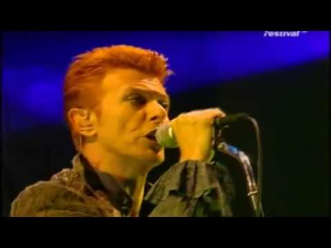 David Bowie ~ Outside Summer Festivals Tour Full Concert Live 1996 @ Loreley German TV Bro