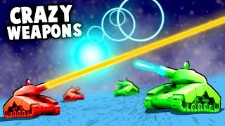 Tanks With Crazy ALIEN TECHNOLOGY Weapons! (ShellShock Live Gameplay)