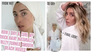 GRWM: HOW I DRY & CURL MY HAIR / WHERE TF HAVE I BEEN... | Lauren Elizabeth