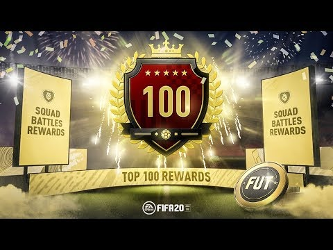 TOP100 SQUAD BATTLES REWARDS 7TH IN THE WORLD WITH CUSTOM TACTICS FIFA 20