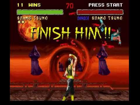 SNES Longplay [176] Mortal Kombat II