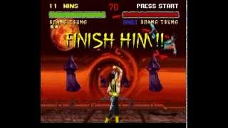 SNES Longplay [176] Mortal Kombat II
