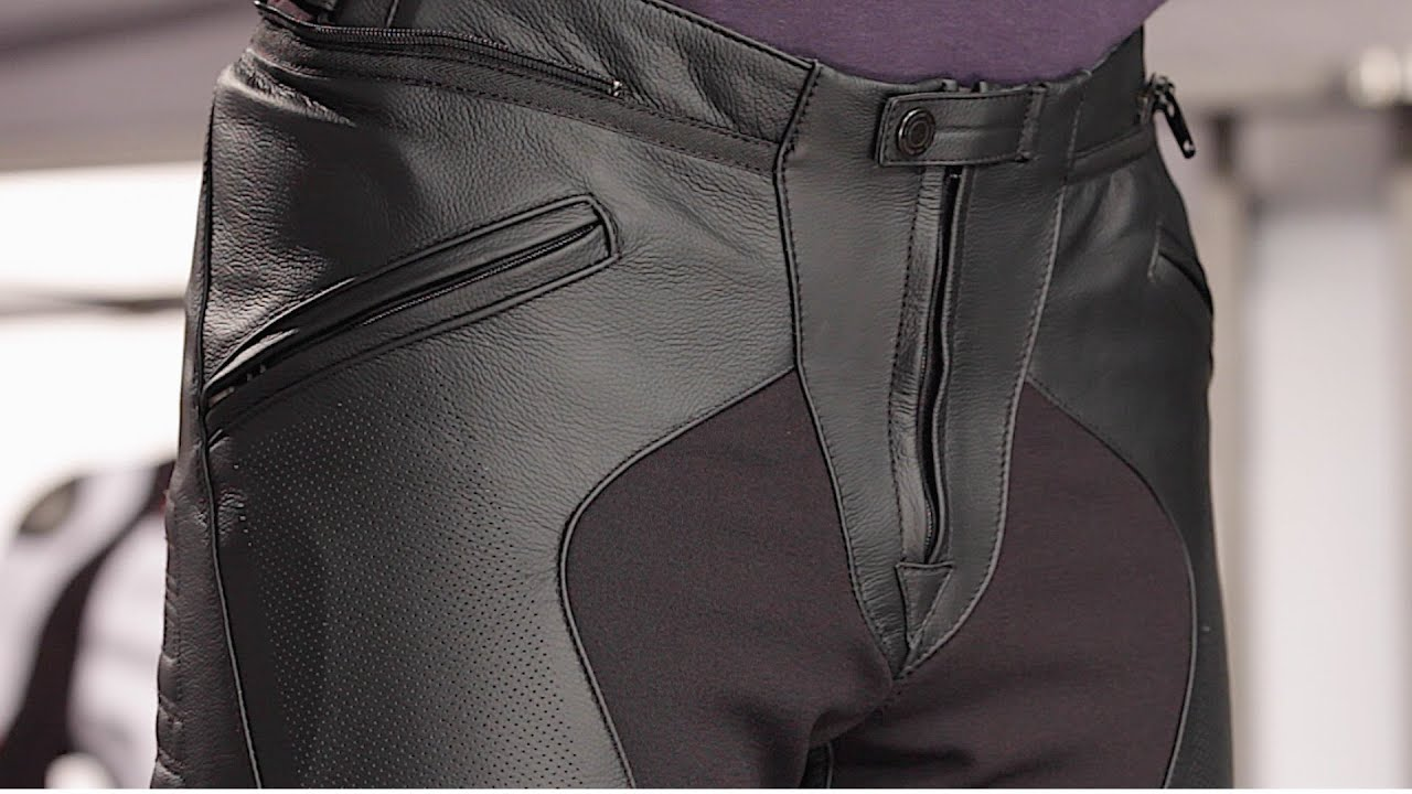 23a3b2f2851b Dainese Pony C2 Leather Pants Review at RevZilla.com - YouTube