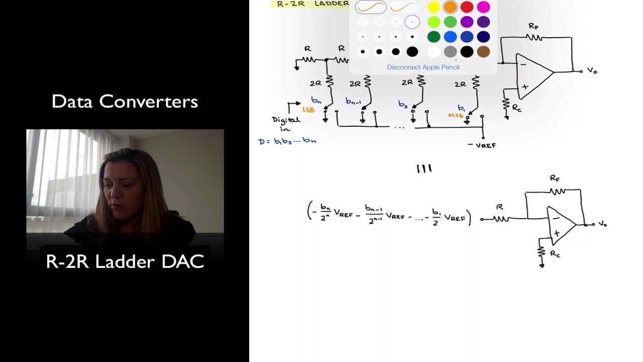 R 2r Ladder Dac Youtube Working Of 4 Bit D A Converter Circuit 1 Technical