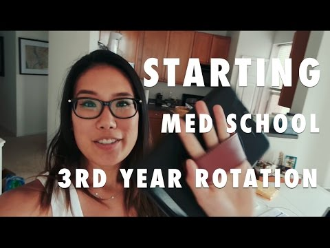 Starting 3rd Year Medical School Rotations| Med School Student Vlog