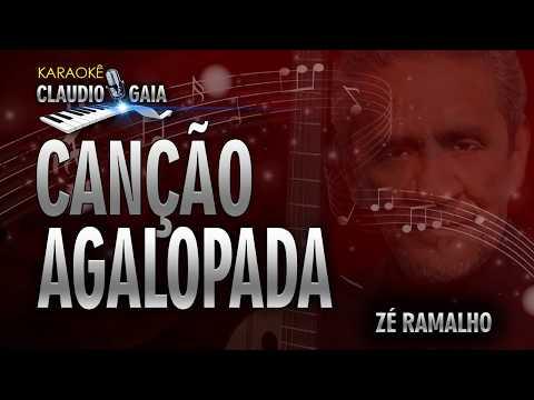 CANÇÃO AGALOPADA - ZÉ RAMALHO - KARAOKÊ
