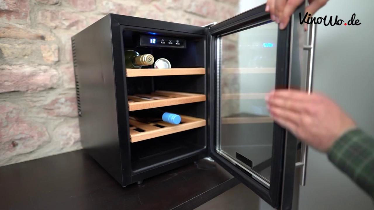 Red Bull Kühlschrank Einstellen : Weinkühlschrank test der weinklimaschrank von klarstein u ereserva