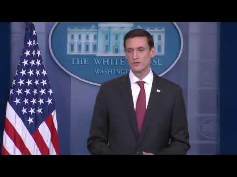 Sarah Sanders on FBI Dir Comey Fired White House Press Briefing