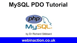 MySQL PDO Tutorial Lesson 1 - Connection(, 2014-08-16T10:14:08.000Z)