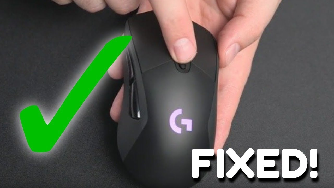 (ISSUE MIGHT COME BACK READ DESCRIPTION!) How to Fix Scroll Wheel Jumping  on Logitech G703
