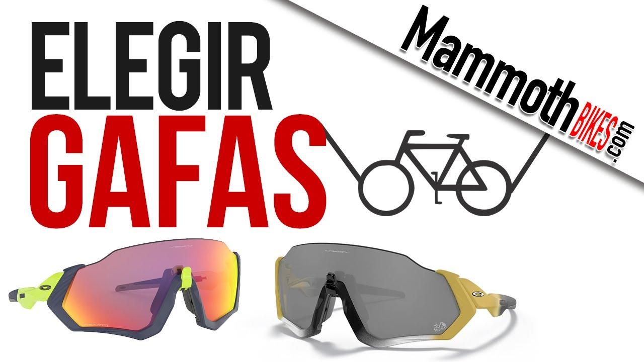 725bb4211f Como elegir unas buenas gafas de ciclismo. - YouTube