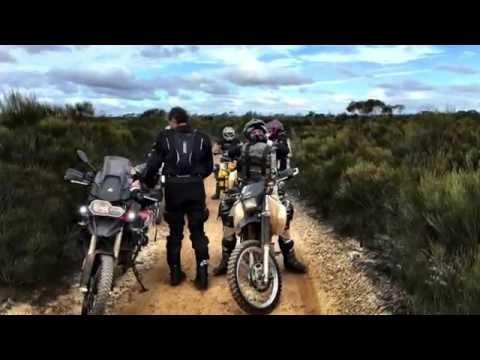 Holland Track (Western Australia) and adjacent sites on Adventure Bikes