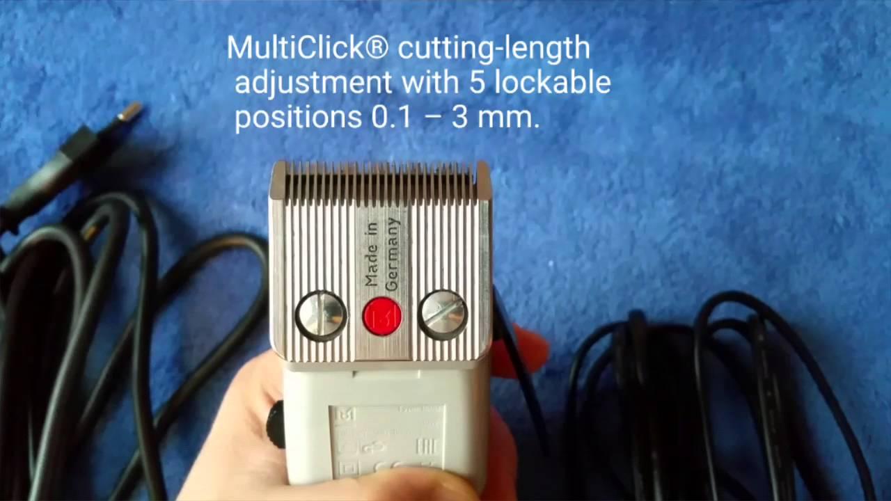Moser Professional: Машинка для стрижки волос Primat - YouTube