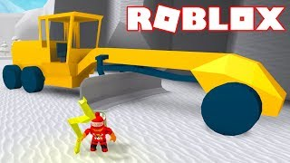 Roblox - LIGHTNING BOLT, NEW VEHICLE et MAP INCREASED!! -Snow Shoveling Simulator ⛄ 🎮