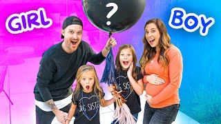 THE OFFICIAL JOHNSON FAM GENDER REVEAL! 💖💙