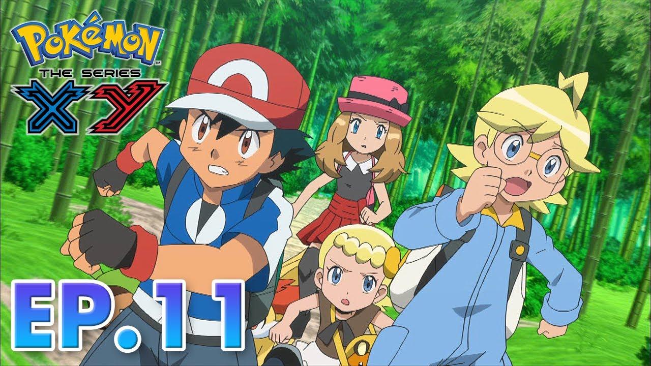 Pokémon the Series: XY| EP11 | The Bamboozling Forest! |Pokémon Asia ENG