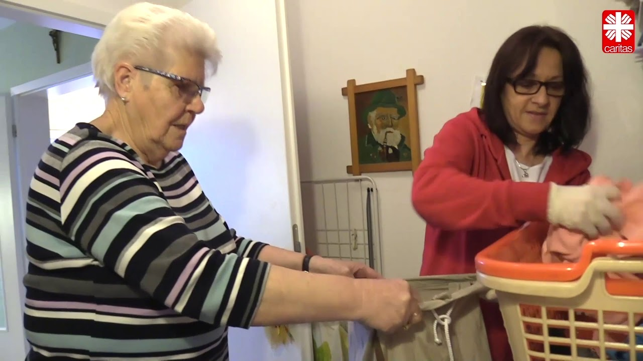 Digitalisierung in der ambulanten Pflege - Wäscheservice von CosaVita und Caritas Geldern